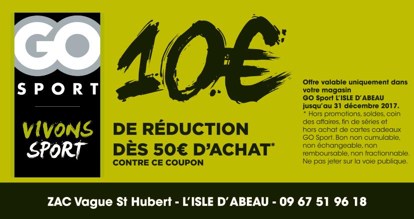 Carte Cadeau Go Sport.Proxi Bon Plan Go Sport L Isle D Abeau Coupon De Reduction